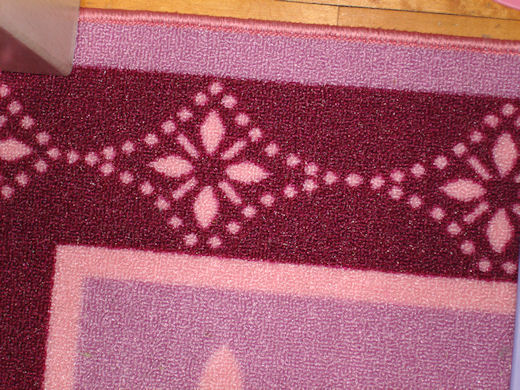 girls room rug