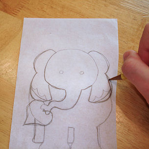 How to Applique - Draw