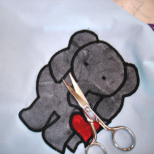 How to Applique - Trim