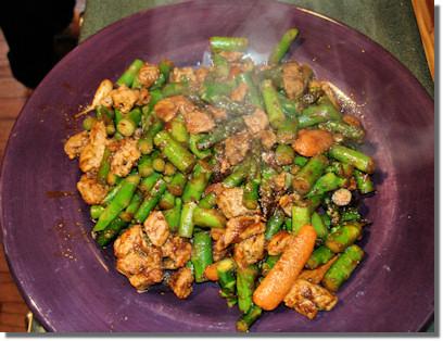 Thai pork