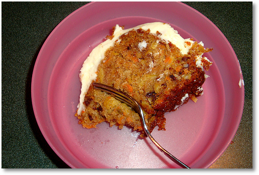 Carrot Cake is Yummy!