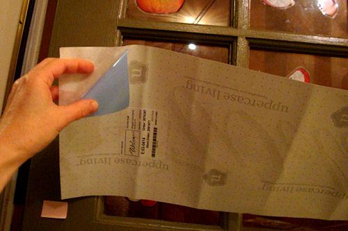 Apply Vinyl Lettering - Flip