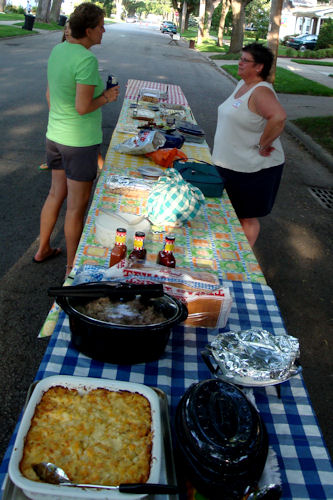 Block Party Food Tables