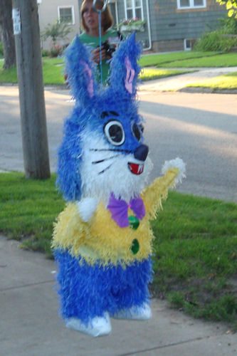 Block Party - Cute Bunny Piñata