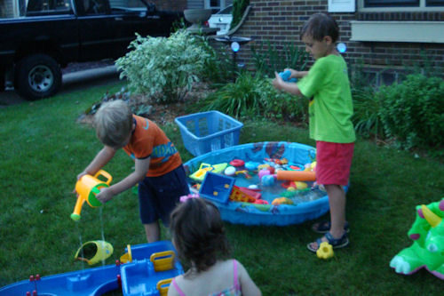 Block Party Water Play