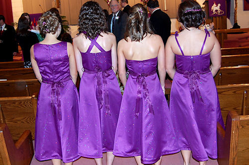 Bridesmaid Dresses - Back
