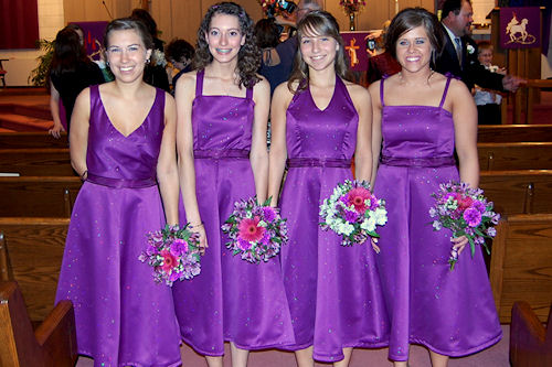 Bridesmaid Dresses - Front
