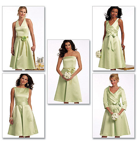 Bridesmaid Dresses Pattern