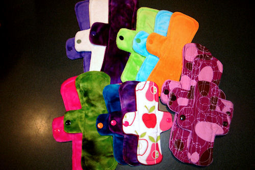 Cloth Pads - Pink Lemonade Fronts