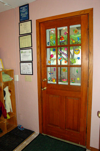 Play Room - Inside Door