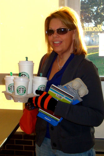Early Childhood Conference 2010 - Dorothy with Coffee