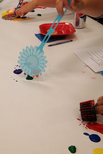 Early Childhood Conference 2010 - Painting with Fly Swatter