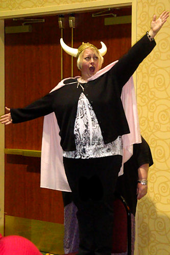 WECA Early Childhood Conference 2010 - Nicole Singing Opera
