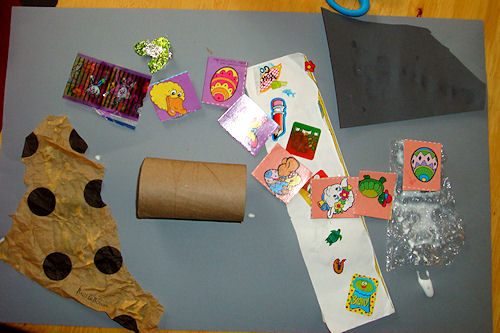 Earth Day Art Activity - Collage
