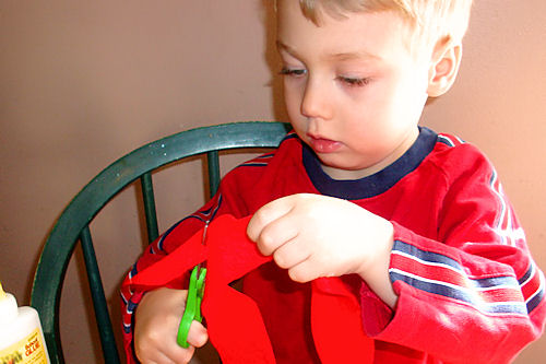 Earth Day Art Activity - Little Guy Cuts