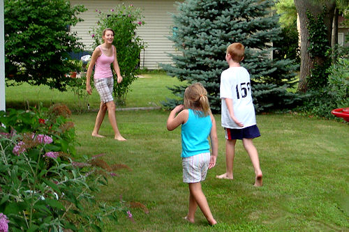 Capture the Flag - Cousins Chasing Angel Face