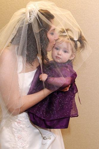 Princess Kisses Flower Girl Peanut