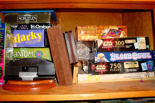 Organize - Game Closet After - Top Shelf