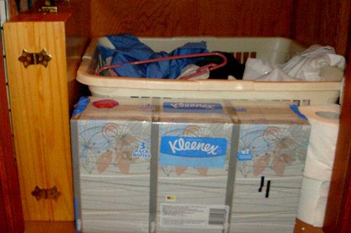 Organize - Game Closet After - Floor