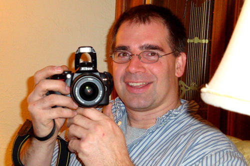 Holiday Party Tips - Uncle Jon with Camera