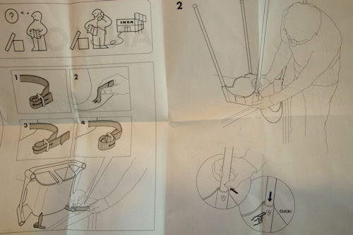 Ikea High Chair Directions