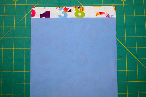 Make Reusable Snack Bags - Cut Out the Pieces