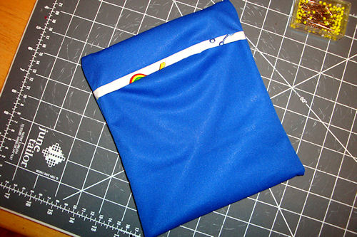 Make Reusable Snack Bags - Finished and Folded