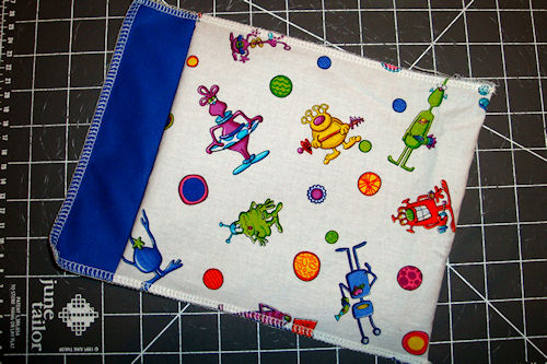 Make Reusable Snack Bags - Almost Done