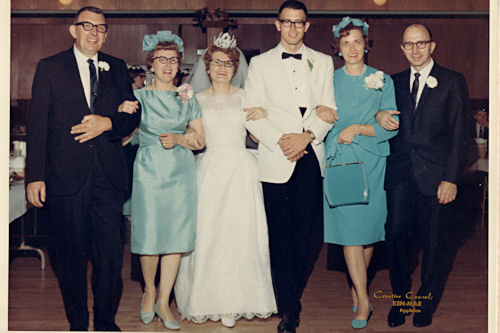 Mom and Dad's Wedding - Both Families
