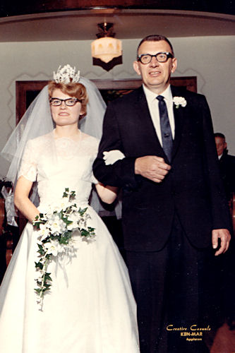Mom and Dad's Wedding - Walking up the Aisle