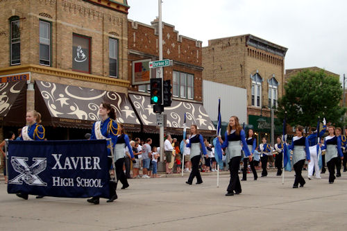 Memorial Day 2010 - Xavier HS Band