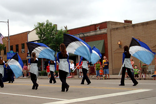 Memorial Day 2010 - Xavier HS Lines
