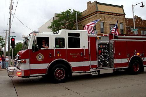 Memorial Day 2010 - Firetruck