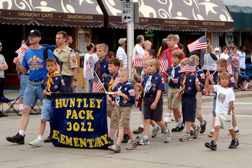 Memorial Day 2010 - Cub Scouts