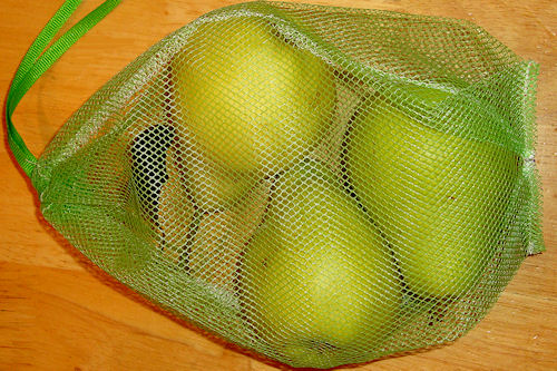 Make a Mesh Produce Bag!