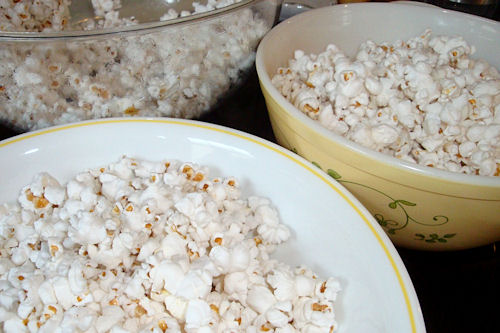 Microwave Caramel Corn Recipe - Divided Popcorn