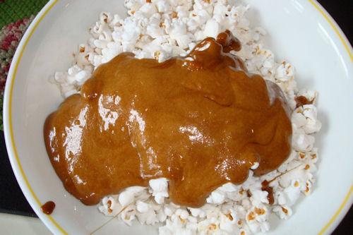 Microwave Caramel Corn Recipe - Divide Caramel