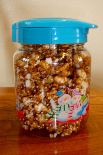 Microwave Caramel Corn Recipe - Package