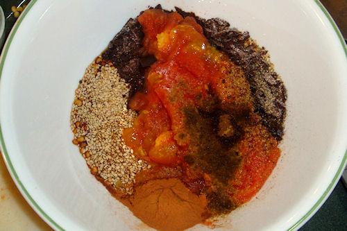 Mexican Mole Sauce - Spice Mixture