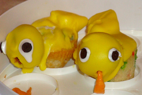 Rubber Duck Cupcakes - Mutated More