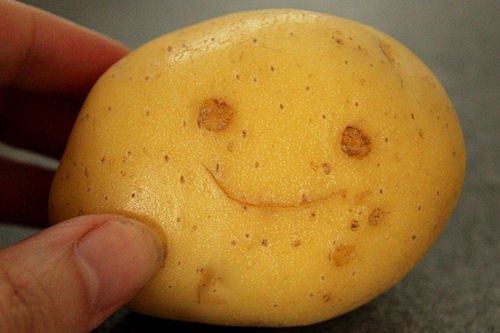 Tips to Be Happy - Potato