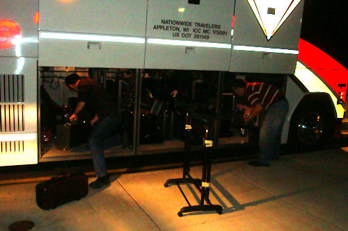 Chicago Trip - Loading the Buses