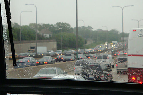 Chicago Trip - Rush Hour Traffic
