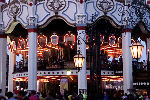 Chicago- Great America, Carousel