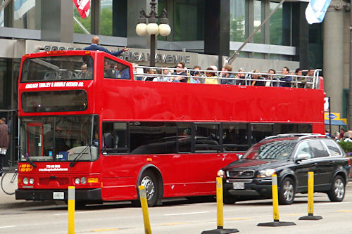 Chicago - Double-Decker Bus