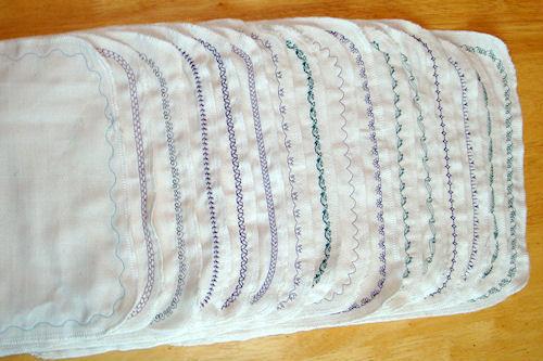 Unpaper Towels - Stitched Borders