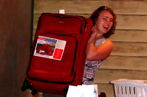 Valley AEYC Dinner - Suitcase