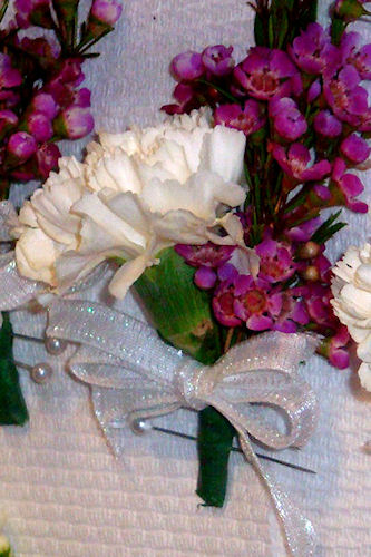 Wedding Flower Corsage