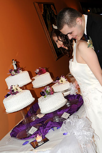 Wedding Reception - Cake Cutting
