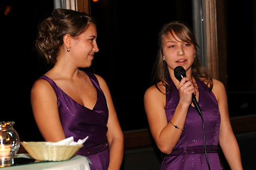 Wedding Reception - Bridesmaid Toast